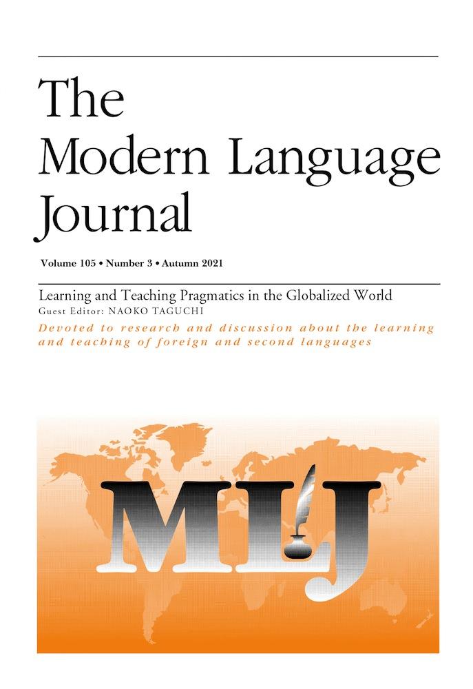 New publication!  Antoniou, K., & Milaki, E. (2021). Irony comprehension in bidialectal speakers. The Modern Language Journal, 105, 697-719.